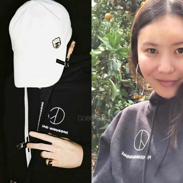 Quá nhiều pha đụng hàng giữa G-Dragon và chị gái, vừa chất lại dễ thương hết phần thiên hạ - Ảnh 5.