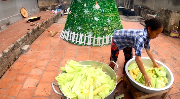 """Đổi gió nấu sữa ngô giữa mùa đông… """"cho nó mát"""", Bà Tân Vlog lại được dân tình ủng hộ vì một thay đổi nhỏ nhưng có võ - Ảnh 2."""
