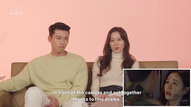 Đào mộ khoảnh khắc đôi trẻ Crash Landing On You bị đồn phim giả tình thật: Cái gì của Hyun Bin chị đẹp cũng biết tuốt? - Ảnh 6.
