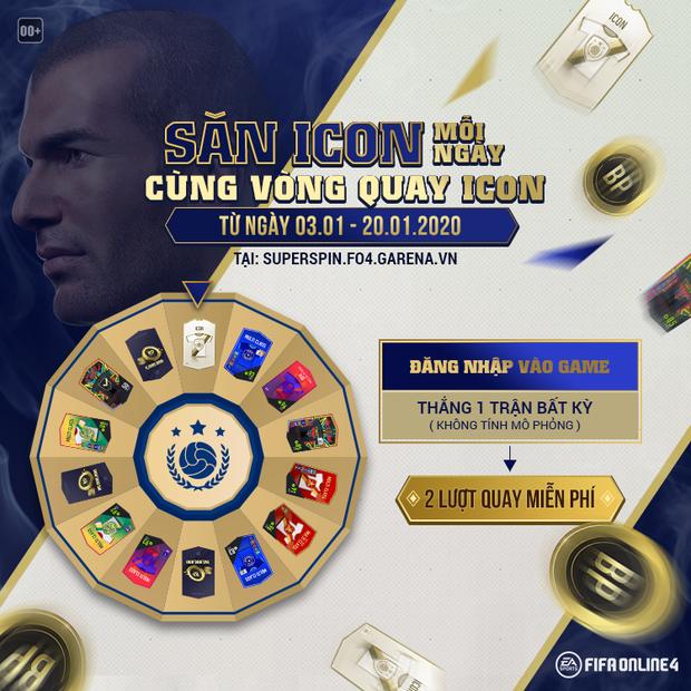 FIFA Online 4: Tin hot cho game thủ, Garena đang mở sự kiện miễn phí săn cầu thủ xịn, trúng cả ICON tiền tỷ - Ảnh 1.