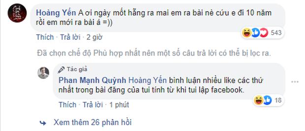 Hoàng Yến Chibi năn nỉ Phan Mạnh Quỳnh dời ngày ra mắt OST Mắt Biếc và nhận được cái kết cực đắng! - Ảnh 1.