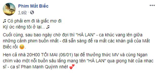 Hoàng Yến Chibi năn nỉ Phan Mạnh Quỳnh dời ngày ra mắt OST Mắt Biếc và nhận được cái kết cực đắng! - Ảnh 4.