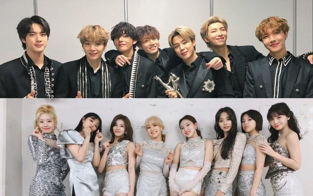 GDA 2020 ngày 2: BTS và TWICE đi vào lịch sử, EXO lần đầu mất Bonsang sau 6 năm vì bị anh em và dàn hậu bối đánh bại - Ảnh 1.