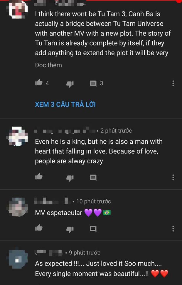 Fan quốc tế nói gì về Canh Ba của Nguyễn Trần Trung Quân: Tan nát cõi lòng, mong chờ phần 3 và còn nhiều hơn thế - Ảnh 9.