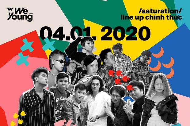 WeYoung: /saturation/ tại TP.HCM: Một đêm nhạc indie trọn vẹn với dàn nghệ sĩ indie chất chơi của đất Sài thành - Ảnh 1.