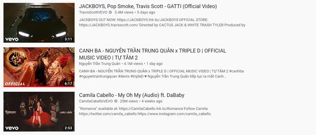 Canh Ba đồng loạt lọt top trending âm nhạc ở Hàn Quốc, Nhật Bản, Australia và Singapore dù chưa vươn lên top 1 trending tại Việt Nam - Ảnh 3.
