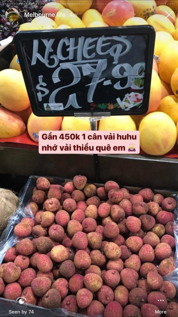 """Con dân Việt ở nước ngoài """"khóc ròng"""" vì trái vải: Giá nơi nào cũng cao, mua được vài quả ăn chẳng bõ - Ảnh 3."""