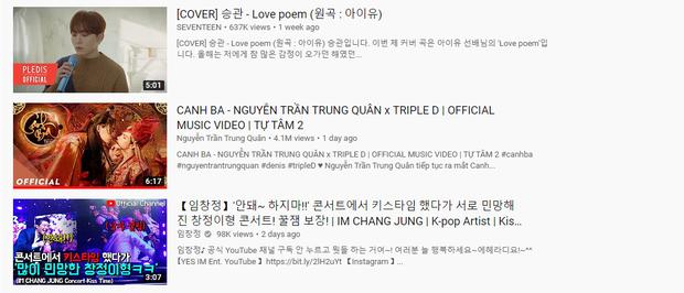 Canh Ba đồng loạt lọt top trending âm nhạc ở Hàn Quốc, Nhật Bản, Australia và Singapore dù chưa vươn lên top 1 trending tại Việt Nam - Ảnh 4.
