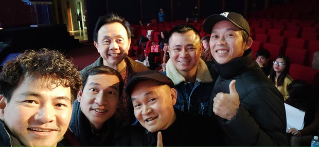 Khung cảnh sau cánh gà Quốc Khánh, Quang Thắng cùng dàn nghệ sĩ trước đêm Gala cuối năm thay thế Táo quân 2020! - Ảnh 5.