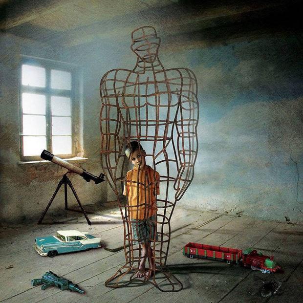 Bộ tranh phũ phàng về sự thật chúng ta đang càng ngày càng cô đơn và dễ đánh mất mình - Ảnh 5.