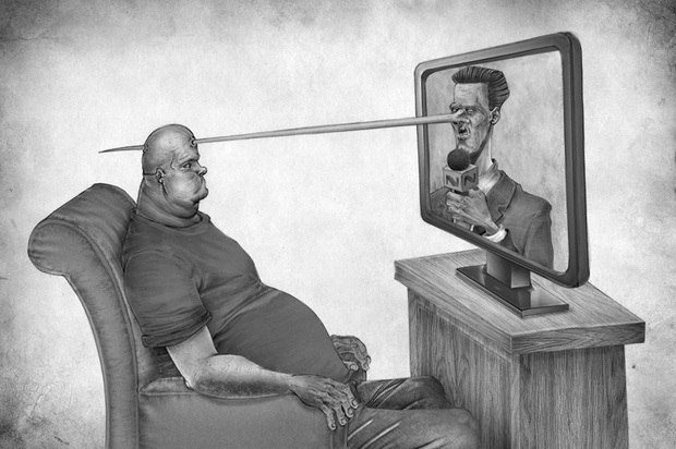 Bộ tranh phũ phàng về sự thật chúng ta đang càng ngày càng cô đơn và dễ đánh mất mình - Ảnh 3.