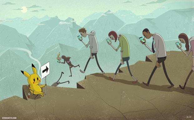 Bộ tranh phũ phàng về sự thật chúng ta đang càng ngày càng cô đơn và dễ đánh mất mình - Ảnh 1.