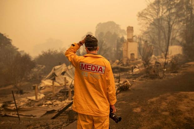Đại thảm họa cháy rừng Úc nhìn từ không gian: Cả nước như quả cầu lửa, những mảng xanh trù phú bị thay bằng màu khói trắng tang thương - Ảnh 21.