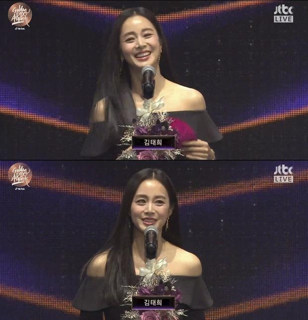 Kim Tae Hee bất ngờ thổ lộ với BTS và Super Junior ngay trên sóng trực tiếp Grammy Hàn - Ảnh 3.