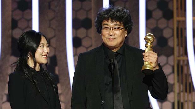 Parasite thắng giải Quả Cầu Vàng 2020 cho hạng mục Phim nói tiếng nước ngoài xuất sắc nhất, tượng vàng Oscar đang đến gần? - Ảnh 1.