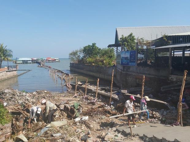 4 người bị tạm giữ vì kích động việc phá dỡ cầu cảng ở Phú Quốc - Ảnh 4.