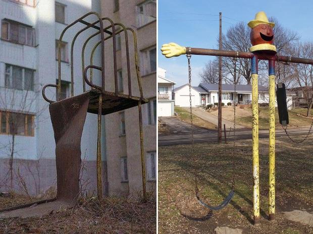 Hết cả hồn với những thiết kế sân chơi, công viên dành cho trẻ em bên Nga - Ảnh 2.