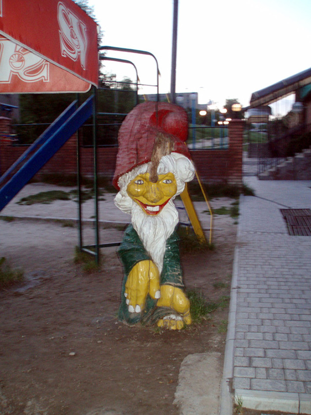 Hết cả hồn với những thiết kế sân chơi, công viên dành cho trẻ em bên Nga - Ảnh 7.