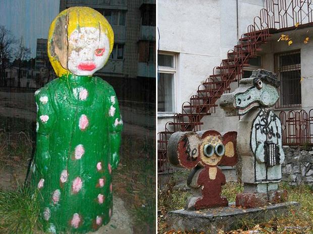 Hết cả hồn với những thiết kế sân chơi, công viên dành cho trẻ em bên Nga - Ảnh 8.