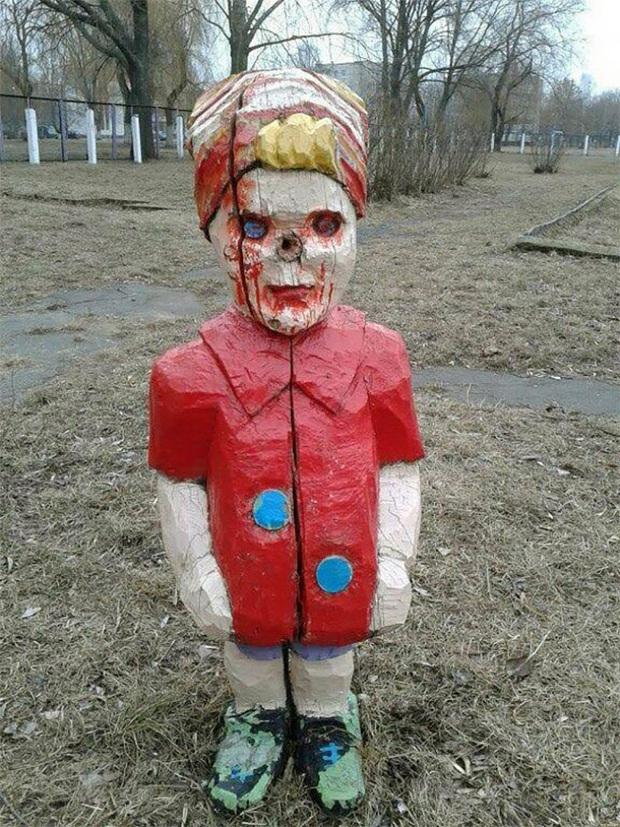 Hết cả hồn với những thiết kế sân chơi, công viên dành cho trẻ em bên Nga - Ảnh 12.