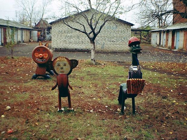 Hết cả hồn với những thiết kế sân chơi, công viên dành cho trẻ em bên Nga - Ảnh 18.