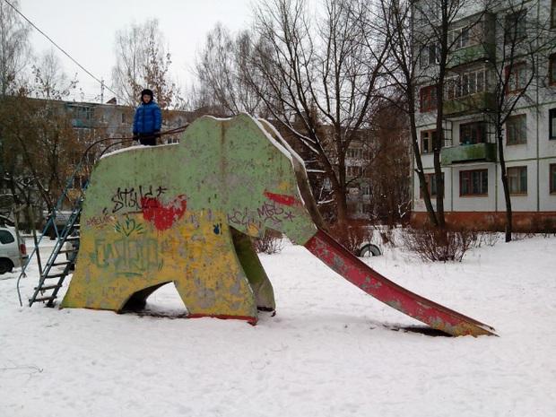 Hết cả hồn với những thiết kế sân chơi, công viên dành cho trẻ em bên Nga - Ảnh 19.