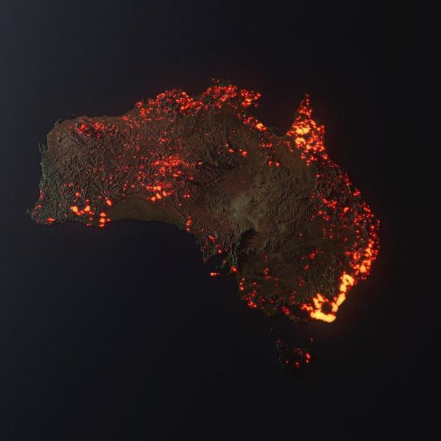 Sự thật về tấm hình cháy rừng đại thảm họa biến nước Úc thành biển lửa đang gây bão cộng đồng mạng - Ảnh 3.