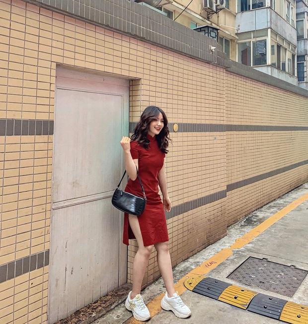 Street style hot girl Việt đầu năm mới: Cá tính sang chảnh đủ cả, ngắm qua là biết lễ Tết nên sắm váy áo thế nào là chuẩn - Ảnh 8.