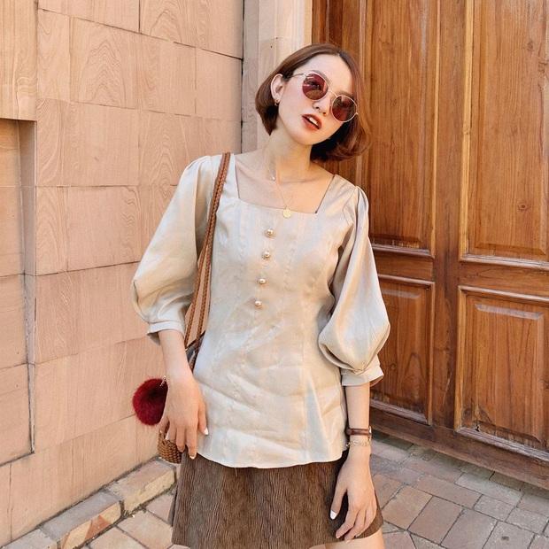 Street style hot girl Việt đầu năm mới: Cá tính sang chảnh đủ cả, ngắm qua là biết lễ Tết nên sắm váy áo thế nào là chuẩn - Ảnh 6.