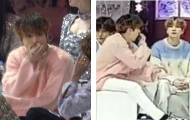 Jungkook (BTS) bị nghi tỏ biểu cảm nôn ói trước MAMAMOO và Han Yeseul: cư dân mạng Hàn Quốc phản ứng mạnh mẽ khi biết được sự thật! - Ảnh 3.