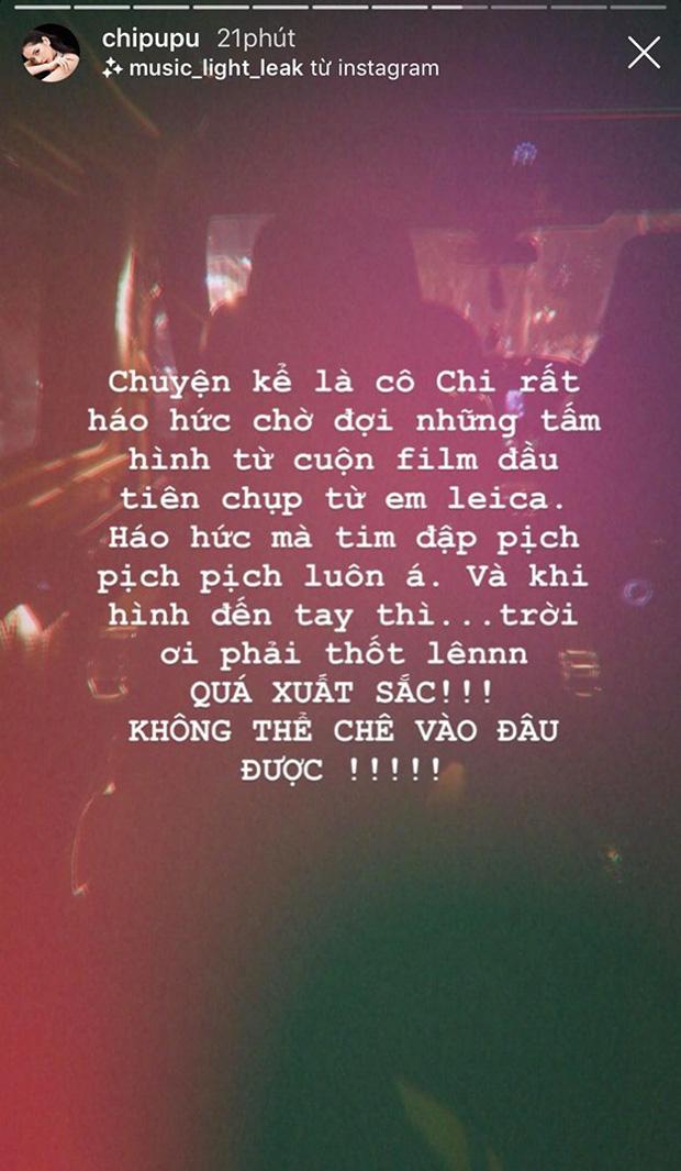 """Đầu tư mua máy film đắt tiền, Chi Pu háo hức mong chờ bộ ảnh film đầu tiên và cái kết """"toang"""" toàn tập: Out nét hết trơn! - Ảnh 3."""