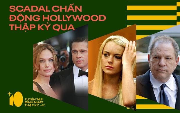 Thập kỉ chấn động của Hollywood: 3 cặp đôi vàng chia li, #MeToo vạch trần nạn quấy rối tình dục - Ảnh 1.
