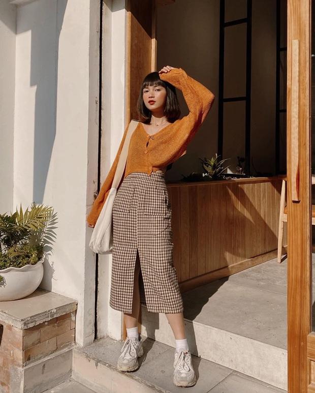 Street style hot girl Việt đầu năm mới: Cá tính sang chảnh đủ cả, ngắm qua là biết lễ Tết nên sắm váy áo thế nào là chuẩn - Ảnh 2.