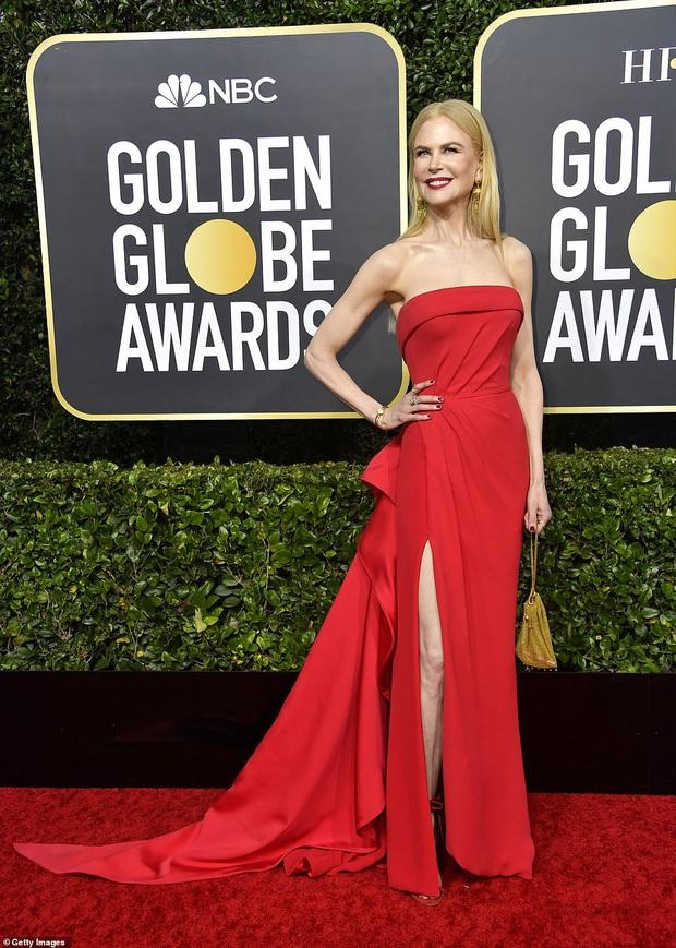 Thảm đỏ Quả Cầu Vàng: Taylor Swift chặt chém bên Goá Phụ Đen, dàn sao Ký Sinh Trùng toả sáng giữa quân đoàn sao khủng - Ảnh 7.