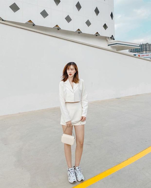 Street style hot girl Việt đầu năm mới: Cá tính sang chảnh đủ cả, ngắm qua là biết lễ Tết nên sắm váy áo thế nào là chuẩn - Ảnh 7.