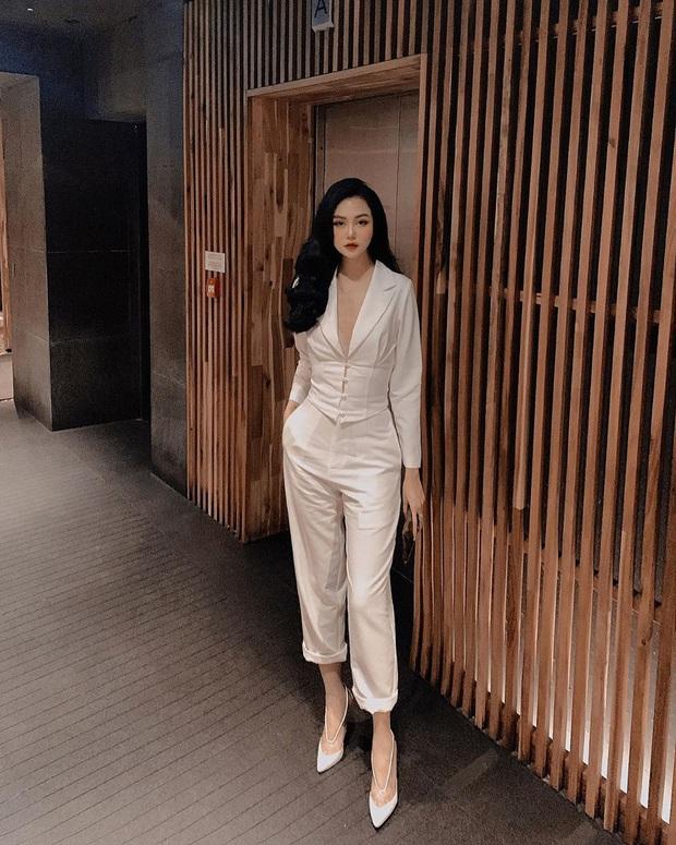 Street style hot girl Việt đầu năm mới: Cá tính sang chảnh đủ cả, ngắm qua là biết lễ Tết nên sắm váy áo thế nào là chuẩn - Ảnh 5.