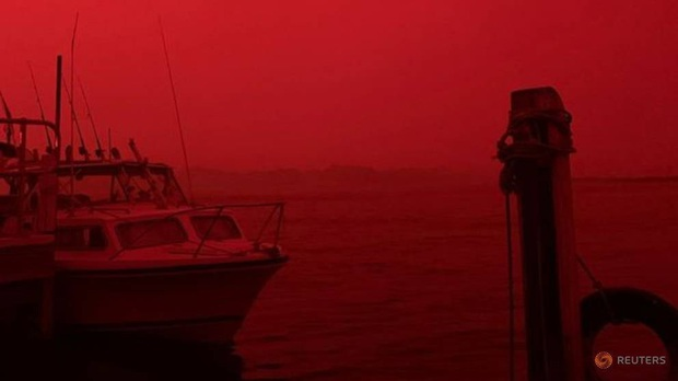 Sự thật về tấm hình cháy rừng đại thảm họa biến nước Úc thành biển lửa đang gây bão cộng đồng mạng - Ảnh 1.