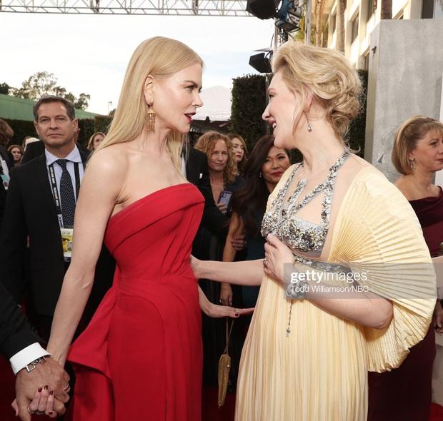 Thảm đỏ Quả Cầu Vàng: Taylor Swift chặt chém bên Goá Phụ Đen, dàn sao Ký Sinh Trùng toả sáng giữa quân đoàn sao khủng - Ảnh 6.