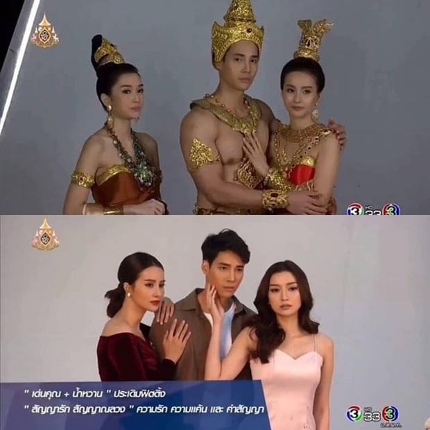 4 phim cổ trang Thái Lan được mong chờ nhất 2020, đứng đầu dĩ nhiên là màn kết hợp của Baifern và Nine rồi - Ảnh 9.