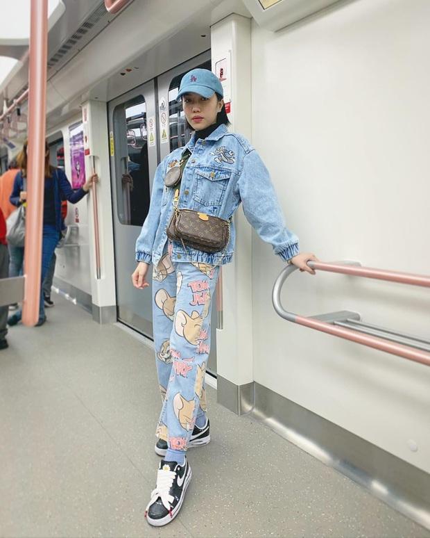 Street style sao Việt: Phượng Chanel ton sur ton cùng bạn iu Vũ Khắc Tiệp, Hà Tăng giản dị nhưng chất nhất tuần - Ảnh 9.