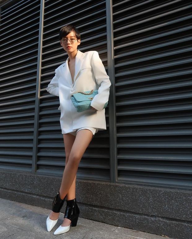 Street style sao Việt: Phượng Chanel ton sur ton cùng bạn iu Vũ Khắc Tiệp, Hà Tăng giản dị nhưng chất nhất tuần - Ảnh 11.