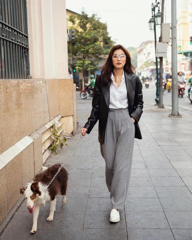 Street style sao Việt: Phượng Chanel ton sur ton cùng bạn iu Vũ Khắc Tiệp, Hà Tăng giản dị nhưng chất nhất tuần - Ảnh 1.