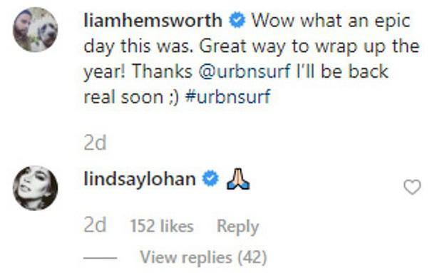 Cô nàng lắm chiêu Lindsay Lohan bất ngờ thả thính Liam Hemsworth, hóa ra là vì liên quan tới cặp Miley - Cody? - Ảnh 2.