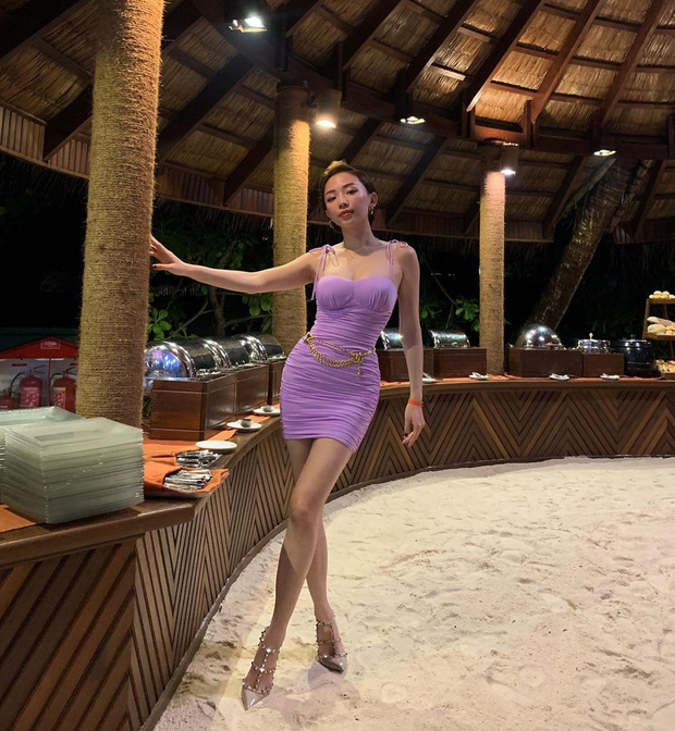 Để chứng minh mình dáng chuẩn, sao Việt nô nức diện kiểu váy siêu ngắn siêu bó siêu kén dáng - Ảnh 5.