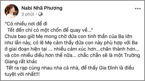 """Nịnh chồng như Nhã Phương: Quay clip khoe nhan sắc """"sương sương"""" cũng phải nhắc khéo tên ông xã Trường Giang - Ảnh 3."""