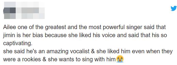 """Giọng hát gây tranh cãi nhưng Jimin (BTS) vẫn được """"Beyoncé xứ Hàn"""" mê mệt, từng muốn hợp tác khi vẫn còn là tân binh - Ảnh 5."""