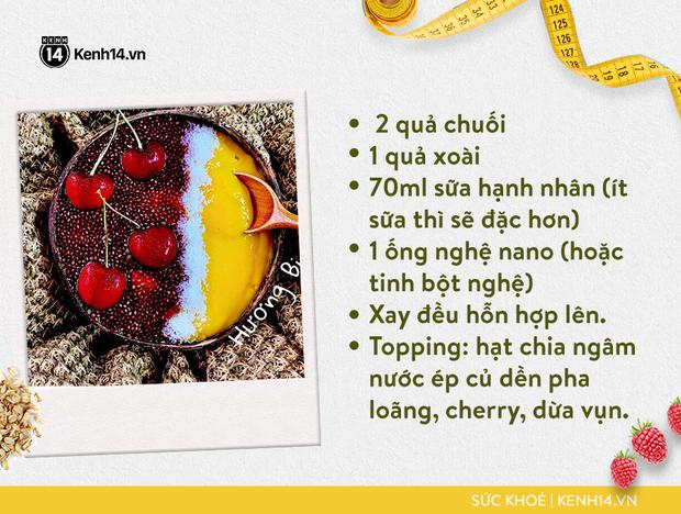 Gợi ý bữa sáng với smoothie bowl hấp dẫn từ cô gái Sài thành giúp da sáng, bụng nhỏ hơn - Ảnh 5.