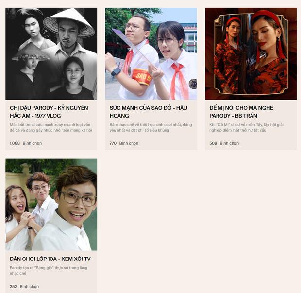 """Denis Đặng đang """"áp đảo"""" Trần Nghĩa, Khoai Lang Thang """"vượt mặt"""" Khoa Pug tại WeChoice Awards 2019 - Ảnh 6."""