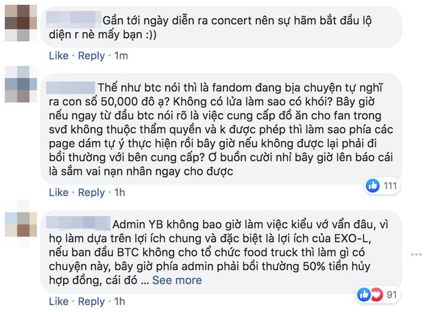 Bị tố cáo đòi 1 tỷ đồng mới cho fan EXO-SC làm xe tải đồ ăn, BTC Kpop Super Concert 2020 lên tiếng: Đây là những thông tin xuất hiện với mục đích xấu cho chương trình - Ảnh 5.