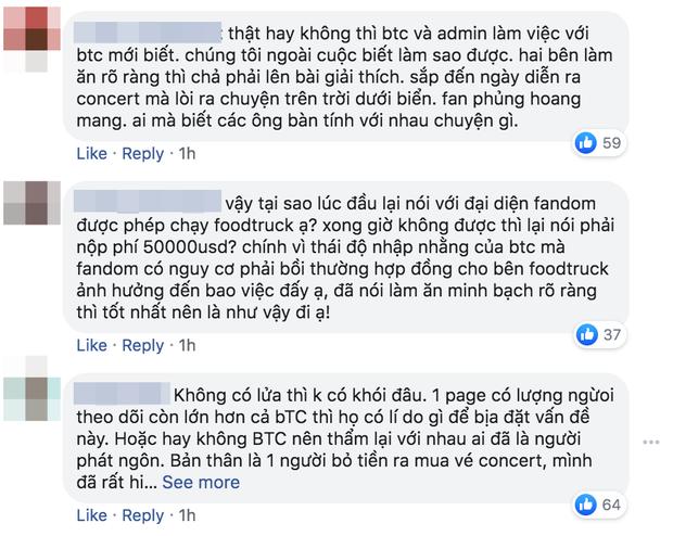 Bị tố cáo đòi 1 tỷ đồng mới cho fan EXO-SC làm xe tải đồ ăn, BTC Kpop Super Concert 2020 lên tiếng: Đây là những thông tin xuất hiện với mục đích xấu cho chương trình - Ảnh 6.